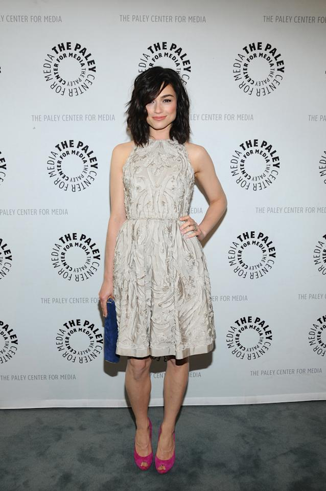 "Crystal Reed attends the Paley Center's Season 2 premiere screening of MTV's ""Teen Wolf"" at  The Paley Center for Media on May 23, 2012 in Beverly Hills, California."