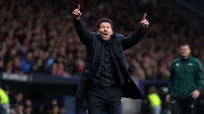 Simeone the cheerleader inspires return of vintage Atletico as European champions are frustrated