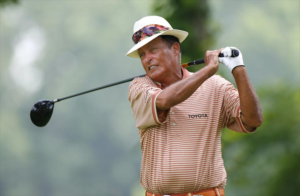 UNITED STATES - JULY 14:  Chi Chi Rodriguez during the second round of the Ford Senior Players Championship held at TPC Michigan in Dearborn, Michigan, on July 14, 2006.  (Photo by Stan Badz/PGA)