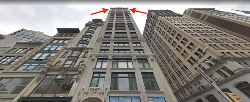 212 5th Fifth Avenue, New York Jeff Bezos penthouse apartment