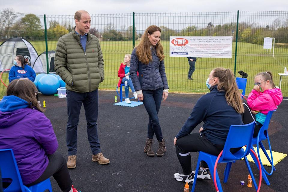 <p>The purpose of their visit was to meet with individuals involved with Cheesy Waffles Project, which offers support and resources to children and young adults throughout County Durham. </p>