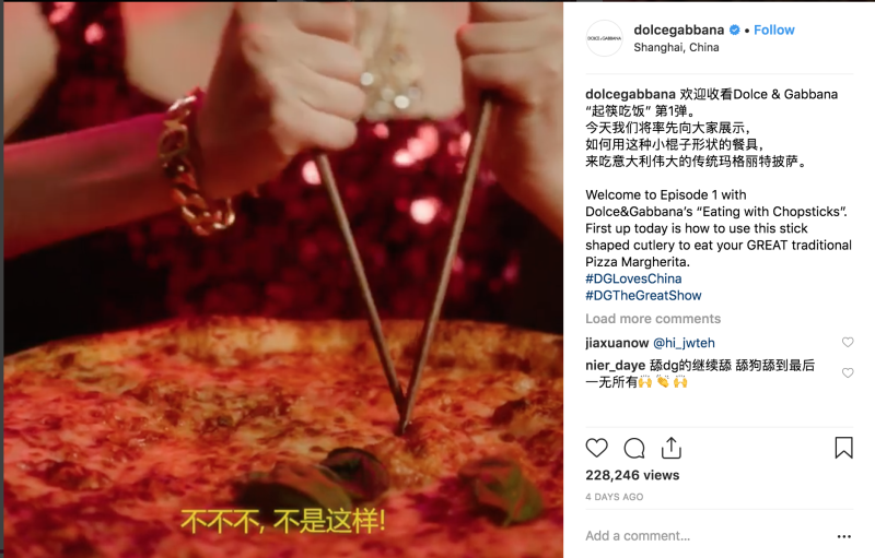 Dolce   Gabbana faces backlash in China over  racist  ads and remarks on  Instagram f53addb7470