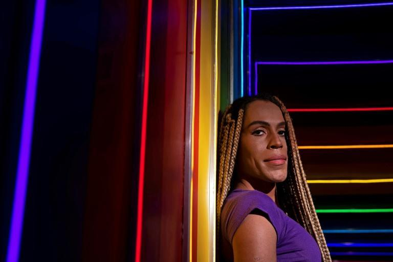 Brazilian transgender woman Rochelly Rangel, 34, battled for 15 years to find a job in the formal market, facing discrimination and insults