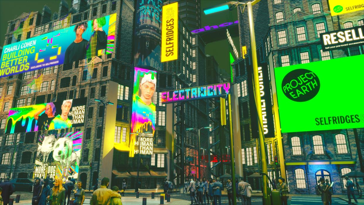 In Electric/City, you'll find three zones to explore: Central Square, Festival Park and the Backstreet Afterparty. (Pokémon/ Selfridges/Yahoo / Charli Cohen)