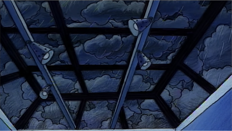 Arnold's completely glass ceiling