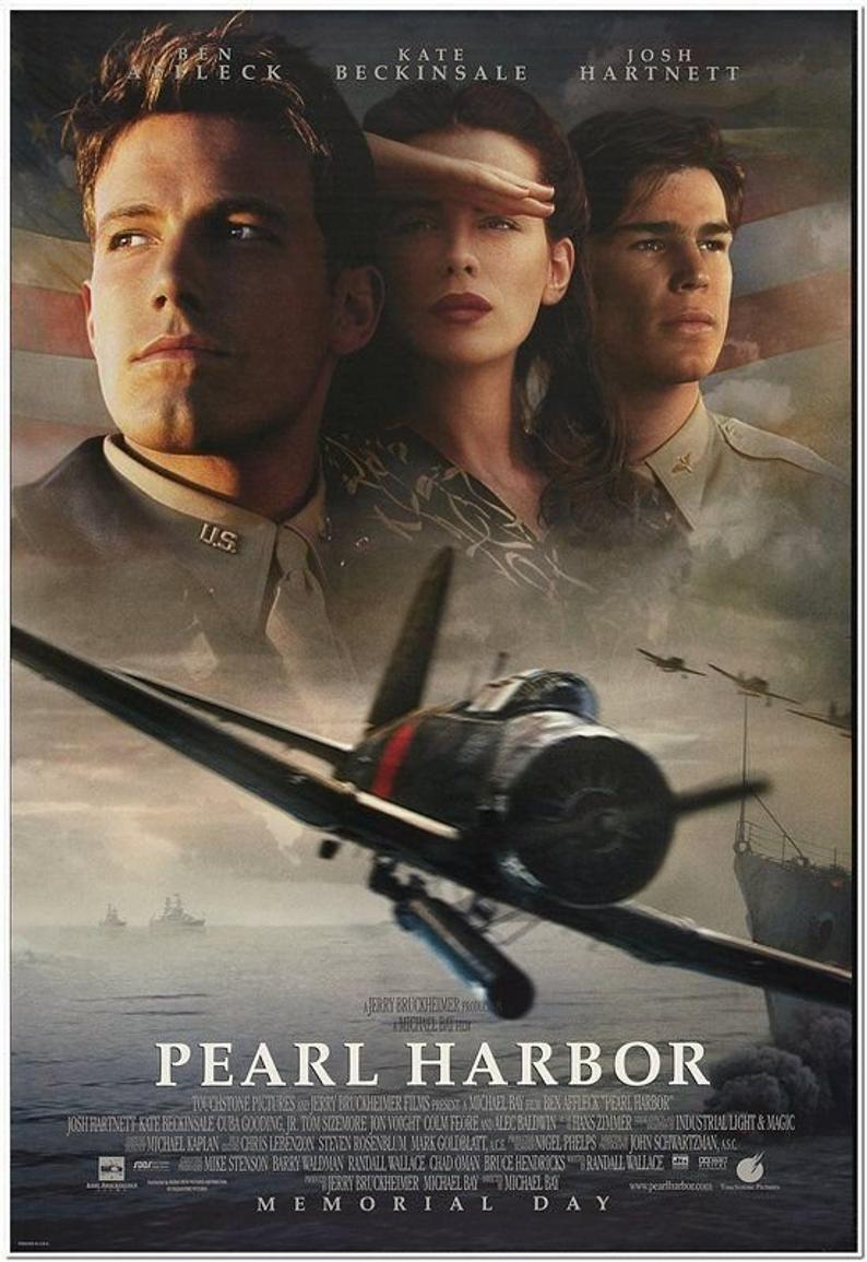 <p>Actors Ben Affleck, Josh Hartnett and Kate Beckinsale along with Director Michael Bay brought this drama of two young Americans' journey as pilots in World War II. Based on actual events and released on May 25, 2001, this story of war from the perspective on the ground and home front remains just as heavy two decades after its release. </p>
