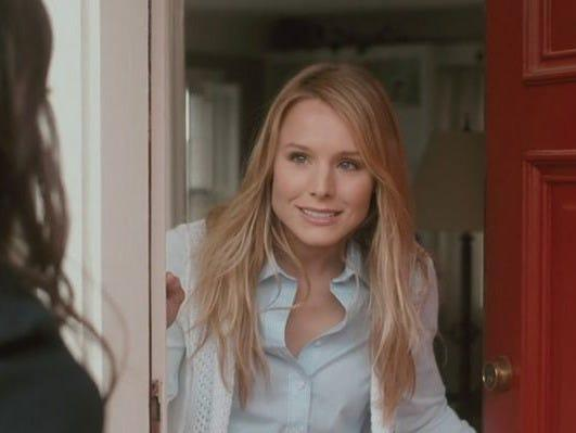 "Kristen Bell was Belinda in ""Safety Not Guaranteed."""
