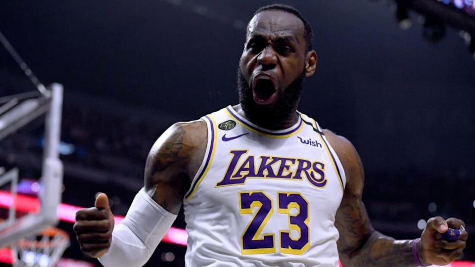 Lebron James   Harry How/Getty Images