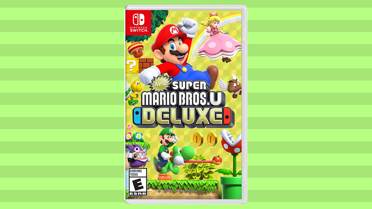Mario Bros.U Deluxe, the answer to the question: Where's a good plumber when you need one? (Photo: Amazon)