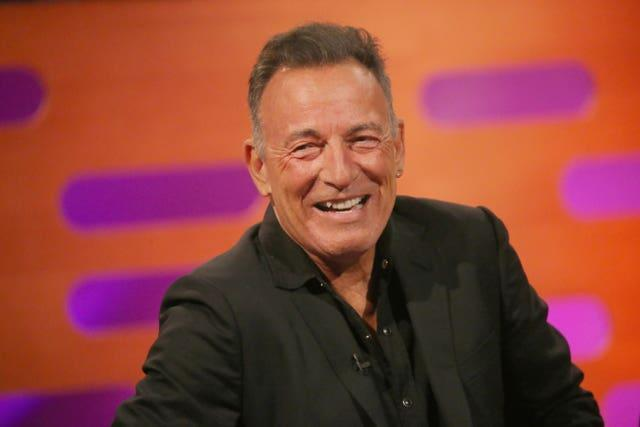Bruce Springsteen will be watching from California