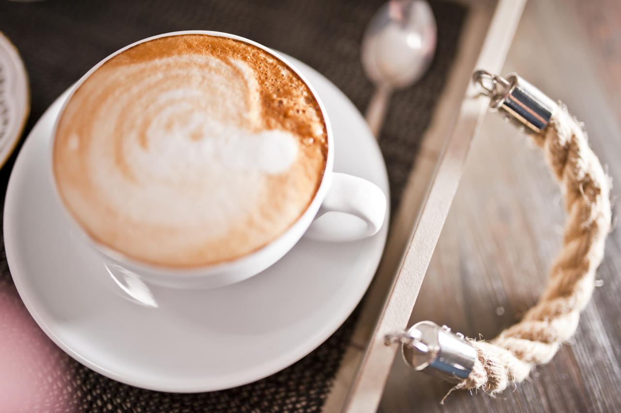 Price of cappuccino $1.85 (Rs 129)