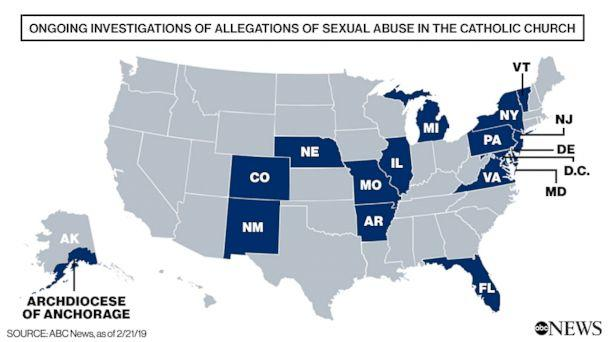 PHOTO: Ongoing Investigations of Allegations of Sexual Abuse in the Catholic Church (ABC News)