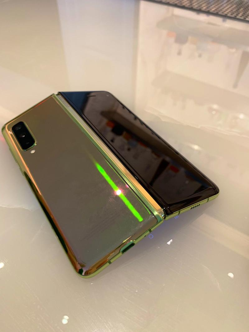 The back of the Galaxy Fold.