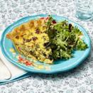"""<p>Quiches and frittatas are great for breakfast in bed because they're less messy than other egg dishes. For an easy shortcut, use refrigerated pie dough for the crust. </p><p><a href=""""https://www.thepioneerwoman.com/food-cooking/recipes/a35924854/sausage-and-kale-quiche-recipe/"""" rel=""""nofollow noopener"""" target=""""_blank"""" data-ylk=""""slk:Get the recipe."""" class=""""link rapid-noclick-resp""""><strong>Get the recipe.</strong></a></p><p><a class=""""link rapid-noclick-resp"""" href=""""https://go.redirectingat.com?id=74968X1596630&url=https%3A%2F%2Fwww.walmart.com%2Fbrowse%2Fhome%2Fpie-dishes-tart-pans%2F4044_623679_8455465_4674050%3Ffacet%3Dbrand%253AThe%2BPioneer%2BWoman&sref=https%3A%2F%2Fwww.thepioneerwoman.com%2Ffood-cooking%2Frecipes%2Fg36145857%2Fbreakfast-in-bed-recipes%2F"""" rel=""""nofollow noopener"""" target=""""_blank"""" data-ylk=""""slk:SHOP PIE PLATES"""">SHOP PIE PLATES</a></p>"""
