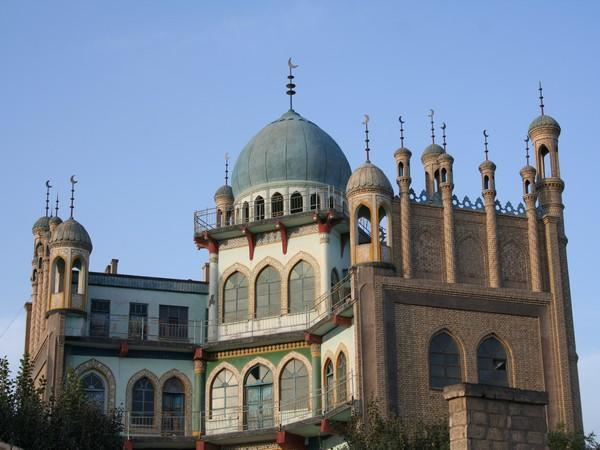 A mosque in Xinjiang, an autonomous region in northwestern China. (File photo)