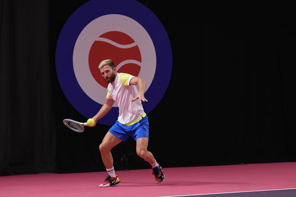 Dan Cox didn't drop a set in Pool B of the men's draw (Credit: Ian Hall)