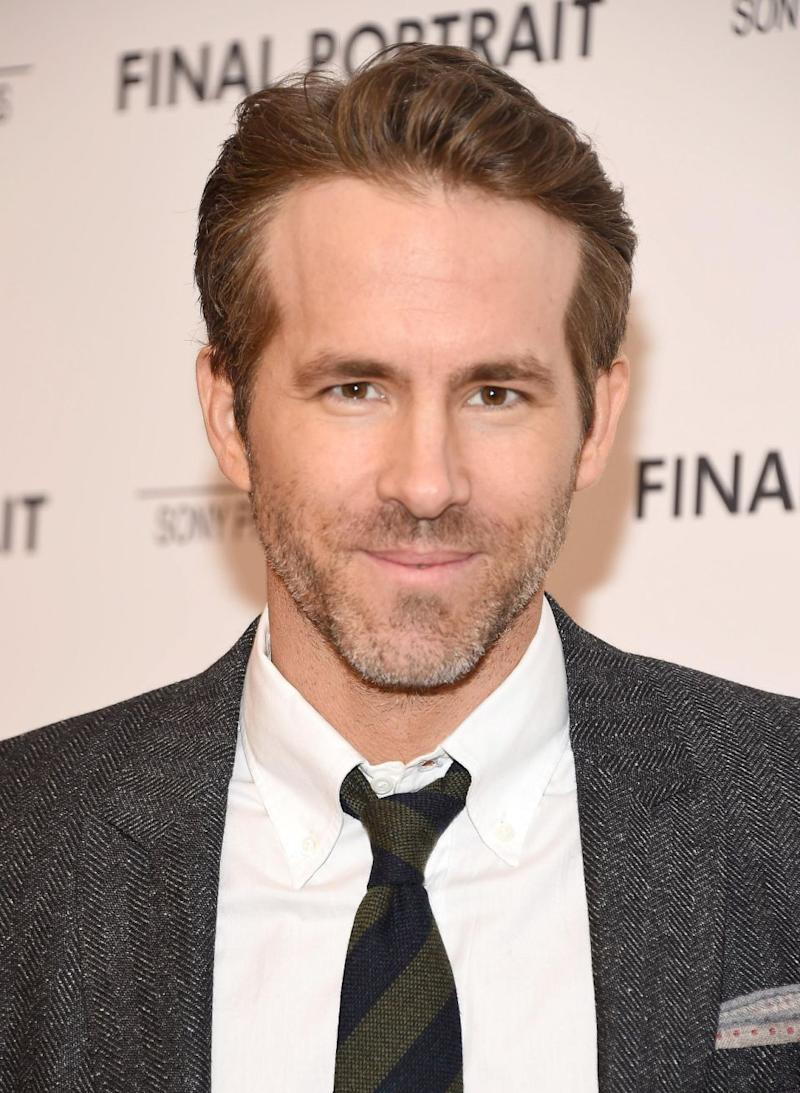 Ryan Reynolds also stepped up to the plate. Source: Getty