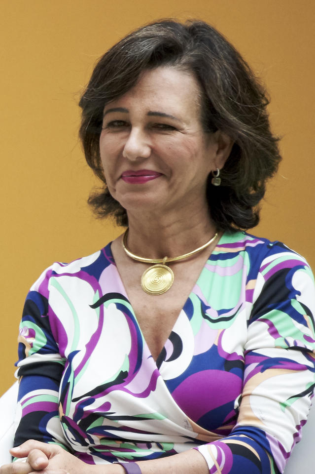 <p>#8. Ana Patricia Botín, Spanish bank Banco Santander President – Age: 58, Country: Spain, Category: Finance and Investments </p>