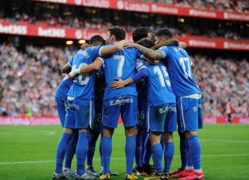 Getafe are third in La Liga after a 2-0 win at Athletic Bilbao
