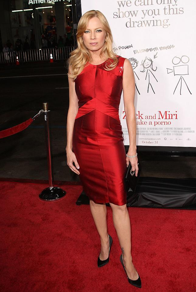 "<a href=""http://movies.yahoo.com/movie/contributor/1805535516"">Traci Lords</a> at the Los Angeles premiere of <a href=""http://movies.yahoo.com/movie/1809958867/info"">Zack and Miri Make a Porno</a> - 10/20/2008"
