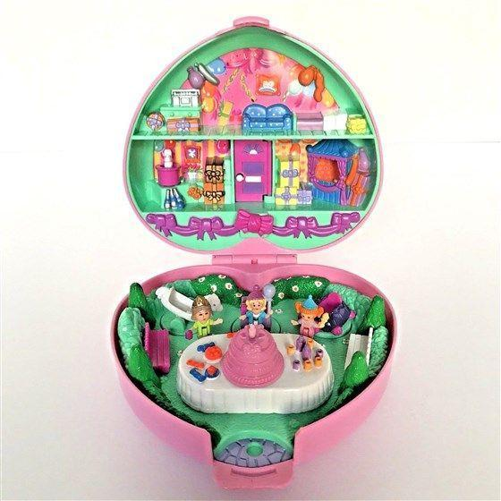 """<p>I know, I know. The chances that any of us still have complete Polly Pocket sets are slim. But if you *do,* they're worth <a href=""""https://www.today.com/home/vintage-polly-pocket-sets-sell-ebay-big-bucks-t120983"""" rel=""""nofollow noopener"""" target=""""_blank"""" data-ylk=""""slk:up to a couple hundred bucks a pop"""" class=""""link rapid-noclick-resp"""">up to a couple hundred bucks a pop</a>, which isn't too shabby for a hunk of plastic. </p>"""