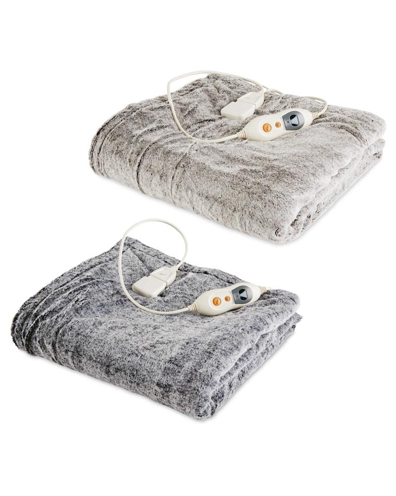Heated Throw by Aldi | £34.99