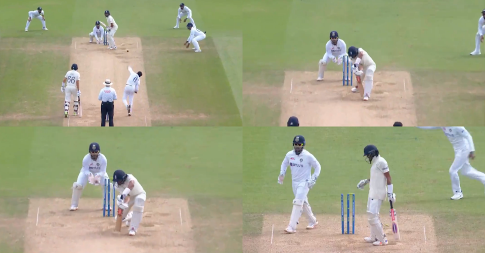 Watch - Ravindra Jadeja Ends Haseeb Hameed's Vigil At The Crease With A Beauty