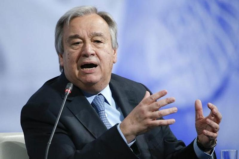 UN Chief Reiterates Call for Global Ceasefire in View of Coronavirus Outbreak