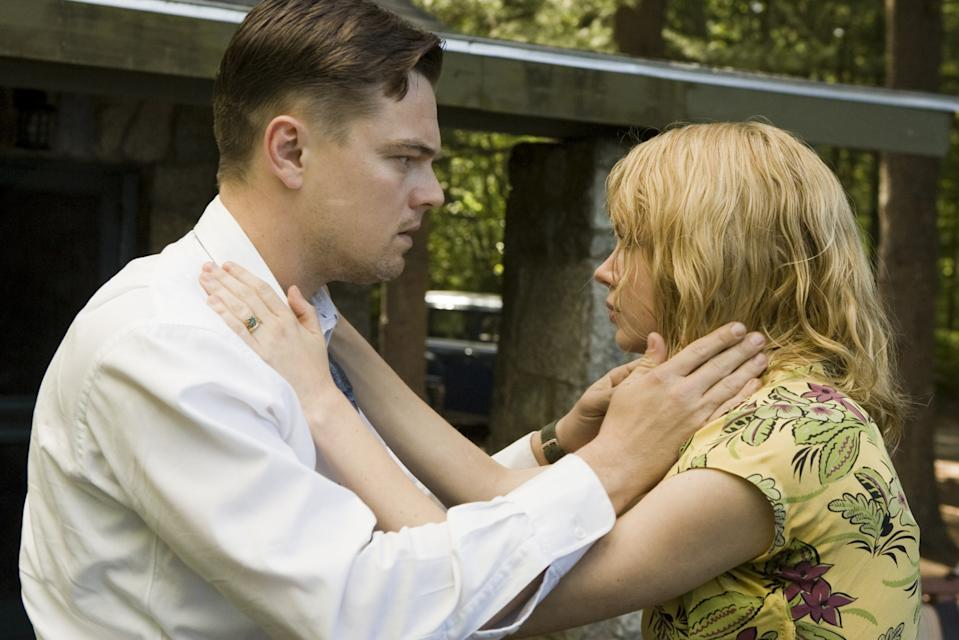 Leonardo DiCaprio and Michelle Williams in a still from Shutter Island. (Paramount)