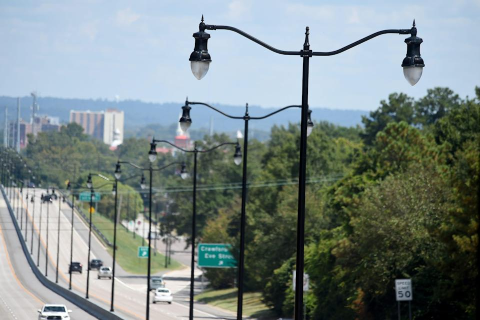 Augusta commissioners are preparing to increase streetlight fees for all property owners to help cover streetlight expenses and expand service. These low-wattage lights were installed along River Watch Parkway as part of a Transportation Investment Act upgrade project.