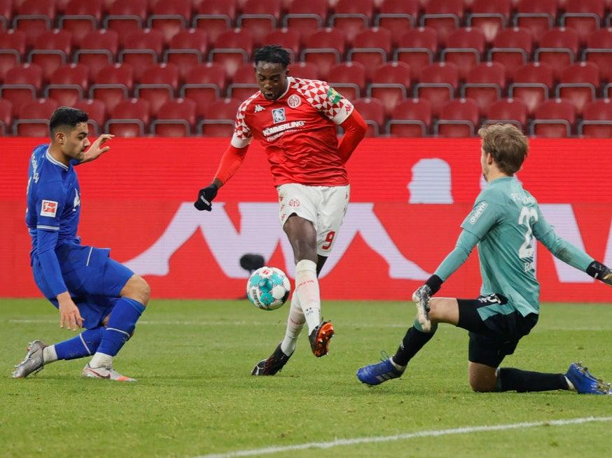 <p>Jean Philippe-Mateta has attracted interest from Crystal Palace</p> (Getty Images)
