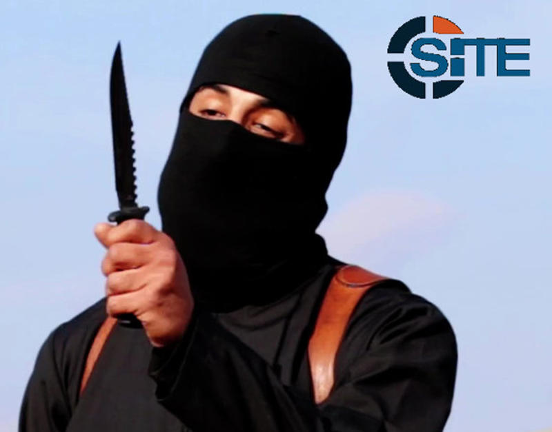 "A masked, black-clad militant, who has been identified by the Washington Post newspaper as a Briton named Mohammed Emwazi, brandishes a knife in this still image from a 2014 video obtained from SITE Intel Group February 26, 2015. Investigators believe that the masked killer known as ""Jihadi John"", who fronted Islamic State beheading videos, is Emwazi, two U.S. government sources said on Thursday. The British government and police refused to confirm or deny his identity, which was first revealed by the Washington Post, saying it was an ongoing security investigation. REUTERS/SITE Intel Group/Handout via Reuters (CIVIL UNREST POLITICS CRIME LAW TPX IMAGES OF THE DAY) CONFLICT) ATTENTION EDITORS - THIS PICTURE WAS PROVIDED BY A THIRD PARTY. REUTERS IS UNABLE TO INDEPENDENTLY VERIFY THE AUTHENTICITY, CONTENT, LOCATION OR DATE OF THIS IMAGE. FOR EDITORIAL USE ONLY. NOT FOR SALE FOR MARKETING OR ADVERTISING CAMPAIGNS. THIS PICTURE WAS PROCESSED BY REUTERS TO ENHANCE QUALITY. AN UNPROCESSED VERSION WILL BE PROVIDED SEPARATELY"