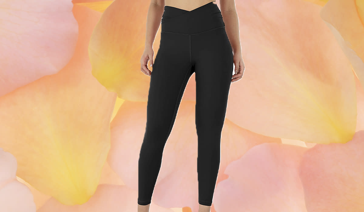 We're gonna go out on a limb (heh) and say that these are the most flattering leggings ever. (Photo: Amazon)