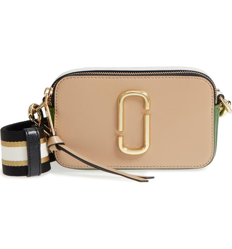 <p>Notice the cool striped strap on <span>The Marc Jacobs Snapshot Crossbody Bag</span> ($295).</p>