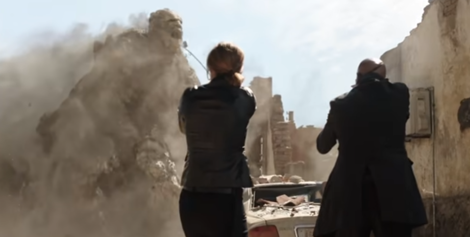 Sandman is one of the elemental monsters in 'Far From Home' (Photo: Marvel/Sony/YouTube)