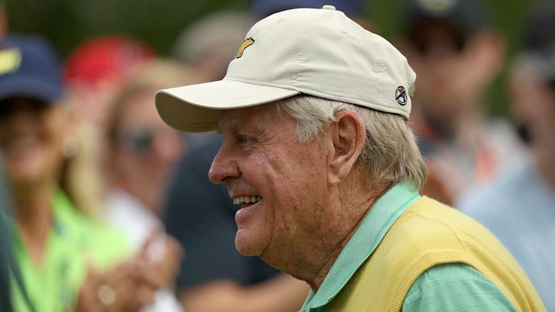 Jovial Nicklaus and Player get Masters under way