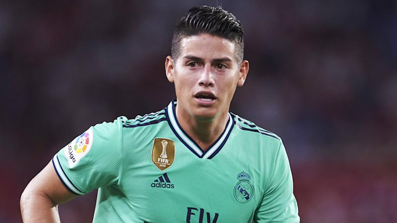 Premier League, Atletico & Serie A all options for James, says Real Madrid outcast's stepfather
