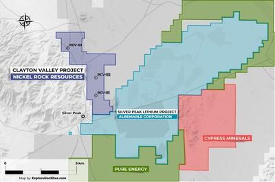 Clayton Valley Lithium Project