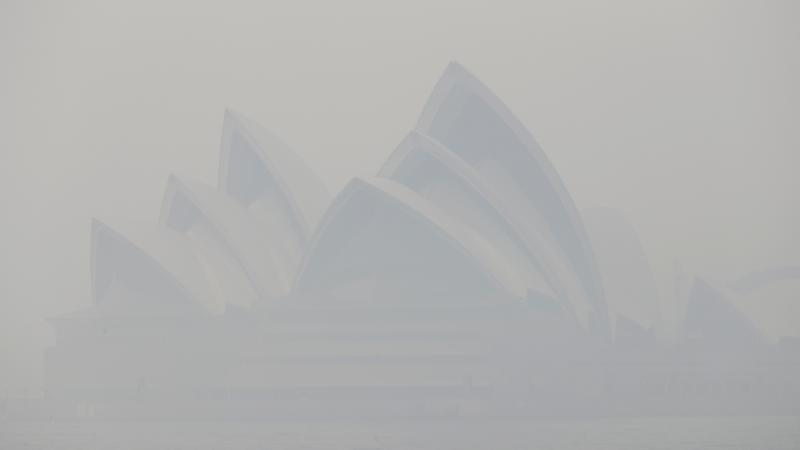 Sydney blanketed again as smoke haze hits new low