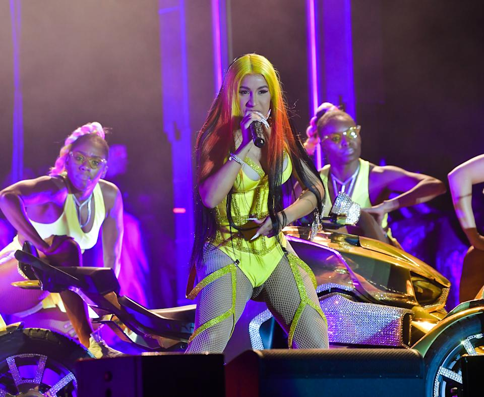 Cardi B performs at Vewtopia Music Festival 2020 - Day 2 at Miami Gardens Park on February 1, 2020. (Photo by Prince Williams/Wireimage)