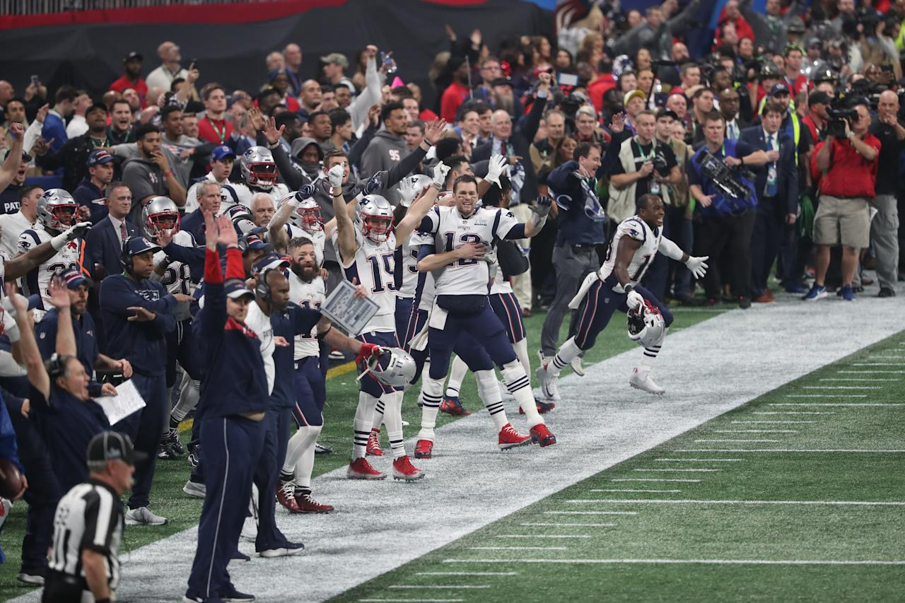 <p>Sights from Super Bowl Sunday </p>