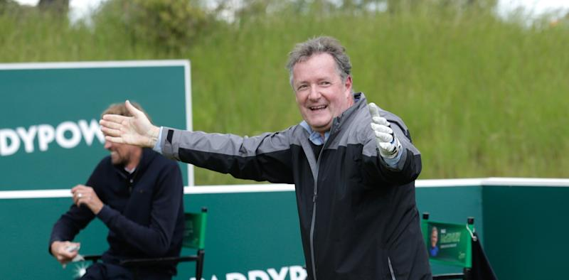Piers Morgan has injured himself on holiday. (Getty Images)