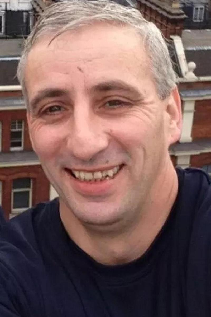 Damien McLaughlin, 43, from Cheshunt was knifed through the heart. (Met Police)