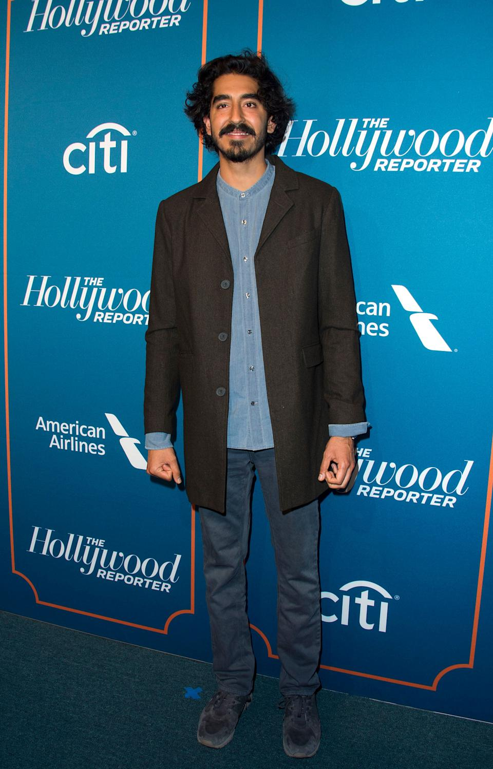 Patel at the Hollywood Reporter's 5th Annual Nominees Night on Feb. 6, 2017, in Beverly Hills.