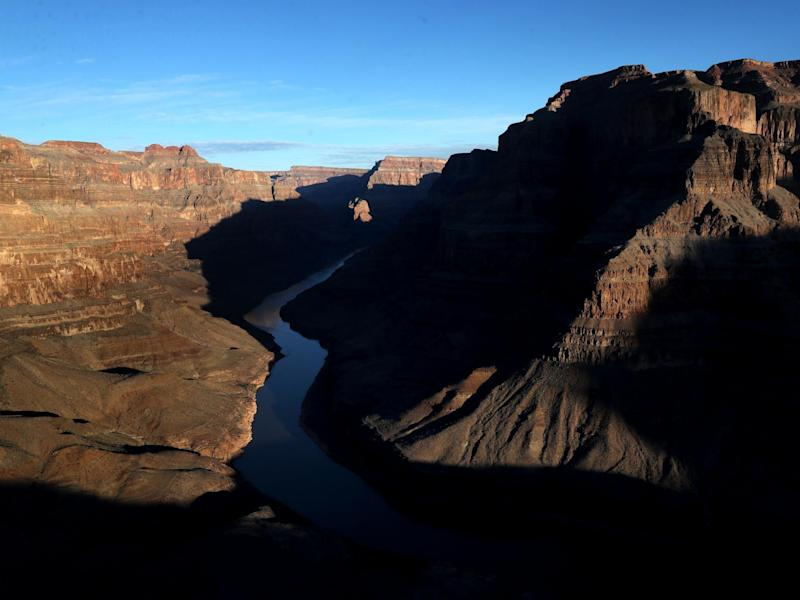 The Grand Canyon, Arizona, US: Justin Sullivan/Getty Images