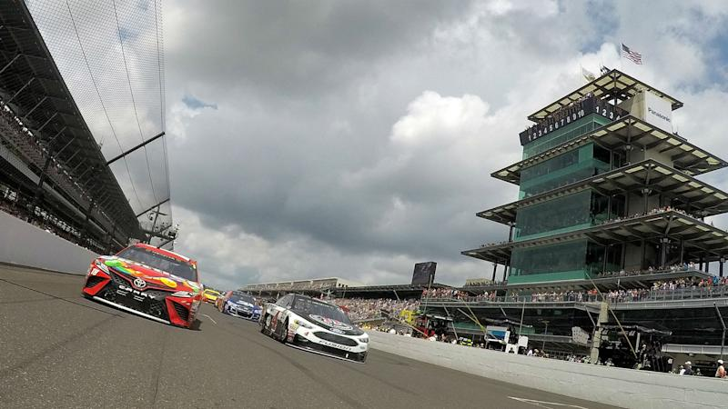 NASCAR at Indianapolis: Starting lineup, pole for Sunday's Brickyard race