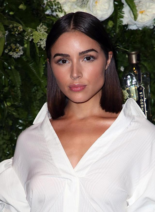 <p>The beauty queen turned actress is blossoming into quite the style icon. She also attended the Maison St-Germain Los Angeles launch, optING for a casual look comprising slicked-back shoulder-length hair, bronzed cheeks, and glossy lips. But it's her brows that really make a statement! (Photo: Getty Images) </p>