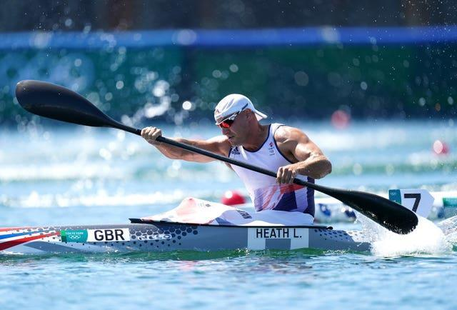 Liam Heath failed to defend his Olympic title but took bronze