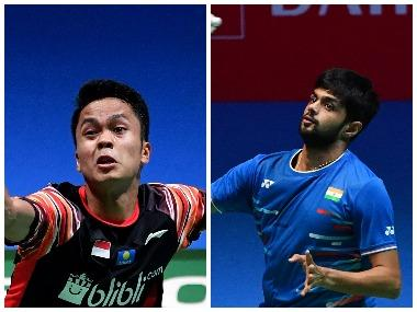 BWF China Open 2019, LIVE Streaming: When and where to watch B Sai Praneeth vs Anthony Sinisuka Ginting, quarter-final match live telecast