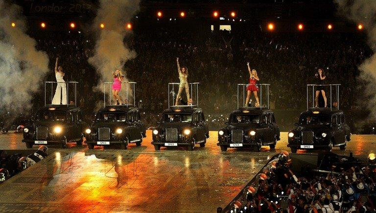 The Spice Girls' performance in the Olympic closing ceremony generated the biggest Twitter spike of the Games